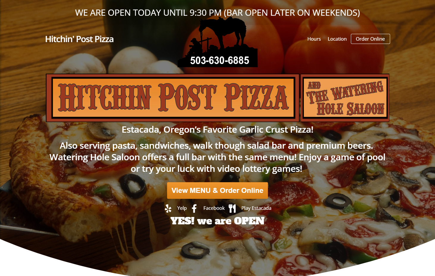 Order Online Hitchin Post Pizza